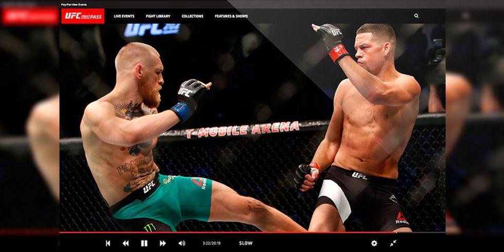 Existen diferentes opciones para ver UFC en vivo online tus eventos favoritos mes a mes. (Foto: Captura)