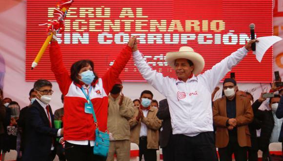 Para Fuerza Popular, era imposible que Pedro Castillo pudiera ganar sin fraude.  (Foto: AFP / Gian Masko)