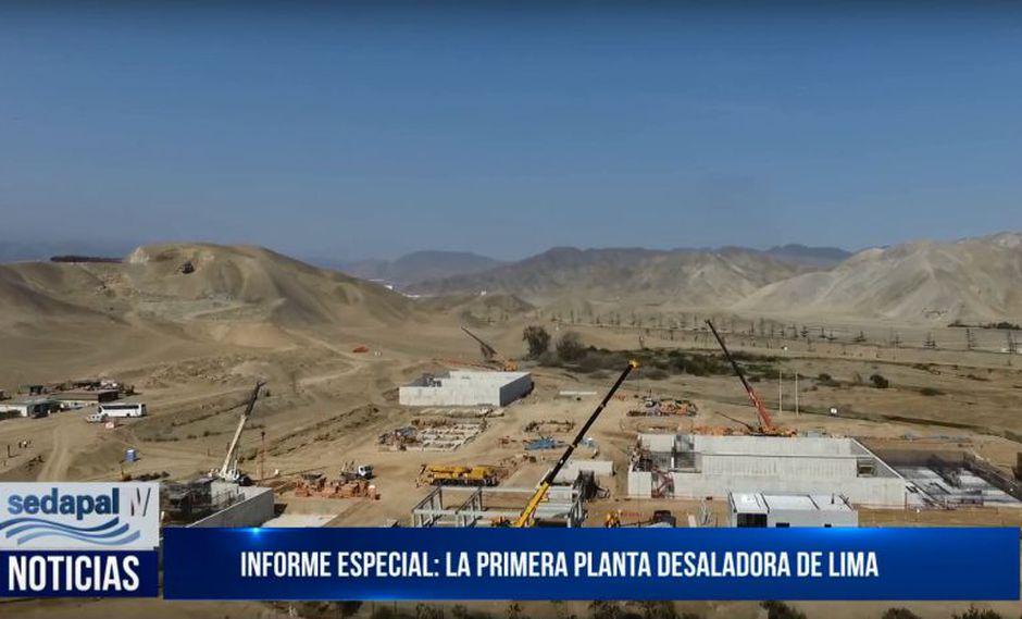 Sedapal detalló que la desalinización y potabilización de las aguas del océano Pacífico será una experiencia extraordinaria, ya que Lima es la ciudad más grande del mundo en medio de un desierto, por lo que crear una nueva fuente de agua es una gran oportunidad. (YouTube)