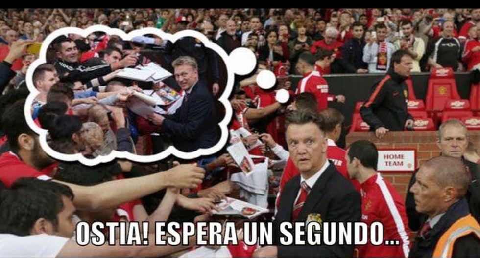 Van Gaal es víctima de memes por debut con derrota en el United - 13