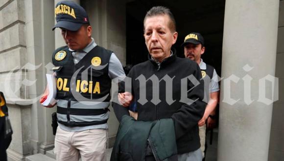 Fiscal superior Alberto Rossel Alvarado fue detenido ayer por presunto tráfico de influencias y patrocinio ilegal. (Foto: Giancarlo Ávila)