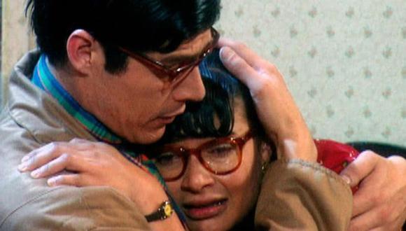 """""""Yo soy Betty, la fea"""" es la telenovela colombiana más exitosa de los últimos 20 años. Betty y Nicolás eran cómplices, incluso en la vida real (Foto: RCN)"""