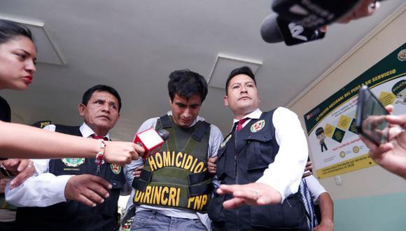 Juan Huaripata Rosales (28) cometió feminicidio y filicidio en El Agustino. (GEC)
