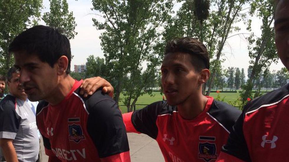 Christofer Gonzales se unió a los entrenamientos de Colo Colo - 2