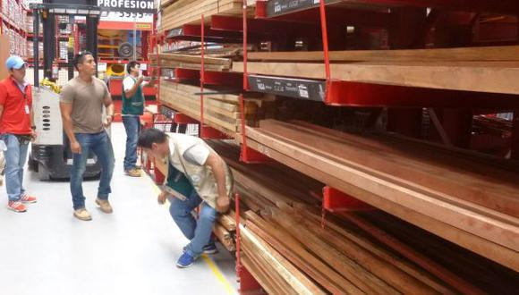 Promart asegura que madera incautada en tienda es legal