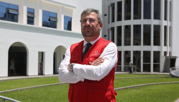 Piero Alessandro Corvetto Salinas, fue elegido como jefe de la Oficina Nacional de Procesos Electorales (ONPE)  para un periodo de cuatro años. (Foto: Marco Ramón / GEC)