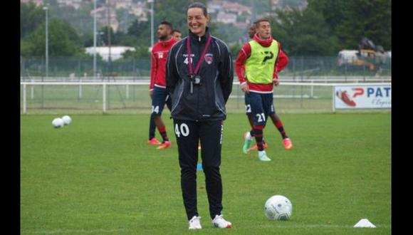 Corinne Diacre, la primera mujer DT que debuta en Francia