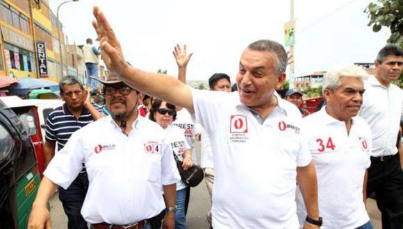 """""""Lo que no le acepto a Otárola ni a ningún otro es que yo haya sido desleal con el gobierno"""", reclamó Daniel Urresti. (Foto: El Comercio)"""