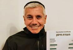 """""""Pasaportes de vacunas"""" para poder viajar: el testimonio de un peruano en Israel que ya tiene el suyo"""