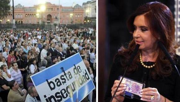 80% de los argentinos se siente inseguro, según encuesta