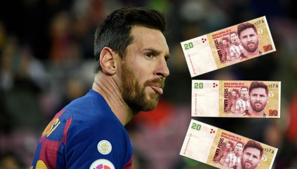 La lista está encabezada nuevamente por el capitán del F.C. Barcelona, Lionel Messi.