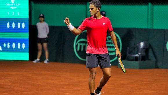 Juan Pablo Varillas clasificó a la final del ATP Challenger Tour de Ambato. (Foto: IPD)