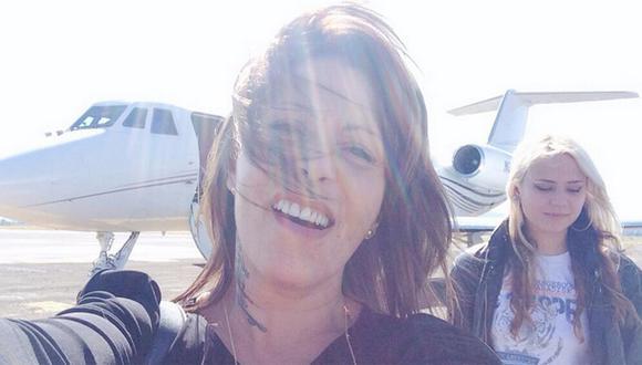 Alejandra Guzmán tuvo caluroso recibimiento en Lima