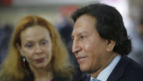 Alejandro Toledo se encuentra actualmente en Estados Unidos junto a su esposa Eliane Karp. (Foto: Archivo El Comercio)