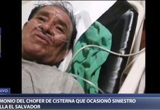 Incendio en Villa El Salvador: chofer de camión cisterna contó cómo ocurrió el accidente [VIDEO]