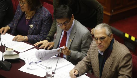 La Comisión Permanente sesionó este viernes 12 desde las 2:30 p.m. También acordó que se investigue al expresidente Ollanta Humala y sus exministros Pedro Cateriano, Wilfredo Pedraza y Daniel Urresti  (Foto: Mario Zapata)