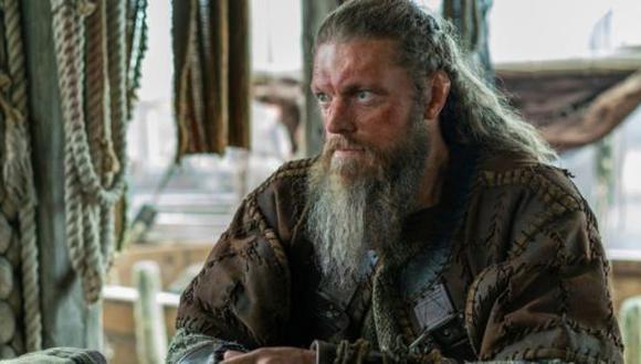 Kjetill Flatnose perdió la cordura al final de la serie (Foto: Vikings / Netflix)