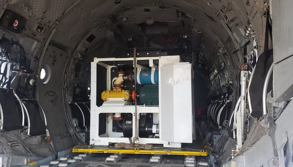 Essalud anunció que otras dos plantas de oxígeno serán instaladas en Iquitos, Loreto. (Foto: Ministerio de Defensa)