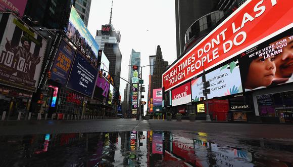 Nueva York anuncia el cierre de colegios públicos para el resto del año escolar por el coronavirus. (Foto: AFP / Angela Weiss).