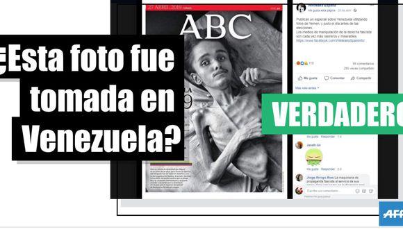 Sí, estas fotografías fueron tomadas en Venezuela y no en Yemen.
