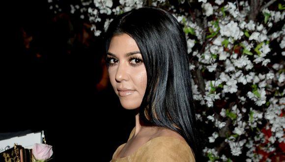 Los fans de Kourtney Kardashian quedaron impresionados por la imagen. (Foto: AFP)