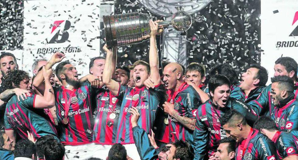 El Club Atlético San Lorenzo de Almagro superó al Nacional de Paraguay en el 2014 y desató la fiesta en tierras argentinas. (Foto: EFE)