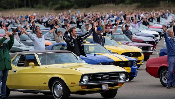 Esta marca supera el anterior registro obtenido en México, cuando en la ciudad de Toluca se reunieron 960 Ford Mustang para desfilar. (Foto: Ford Mustang).
