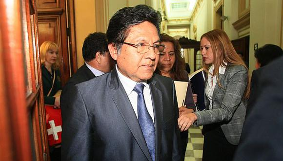 Ramos Heredia también removió a fiscal de caso Sánchez Paredes