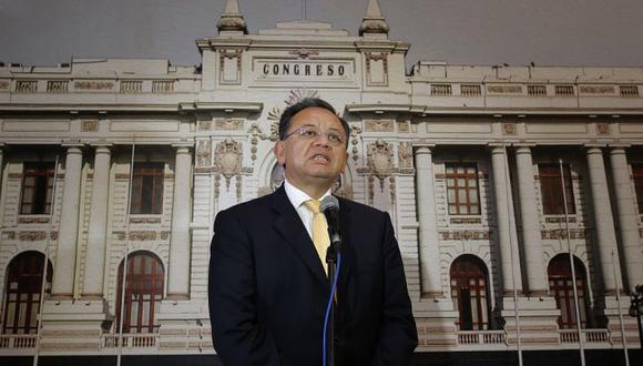 Alarcón es investigado por presentar un supuesto desbalance producto de mayores gastos por el importe de S/201.337,24. (Foto: GEC)