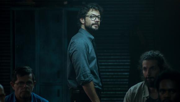 """El Profesor (Álvaro Morte) tiene que reclutar nuevos """"estudiantes"""" en """"La casa de papel"""" temporada 4. Foto: Netflix."""