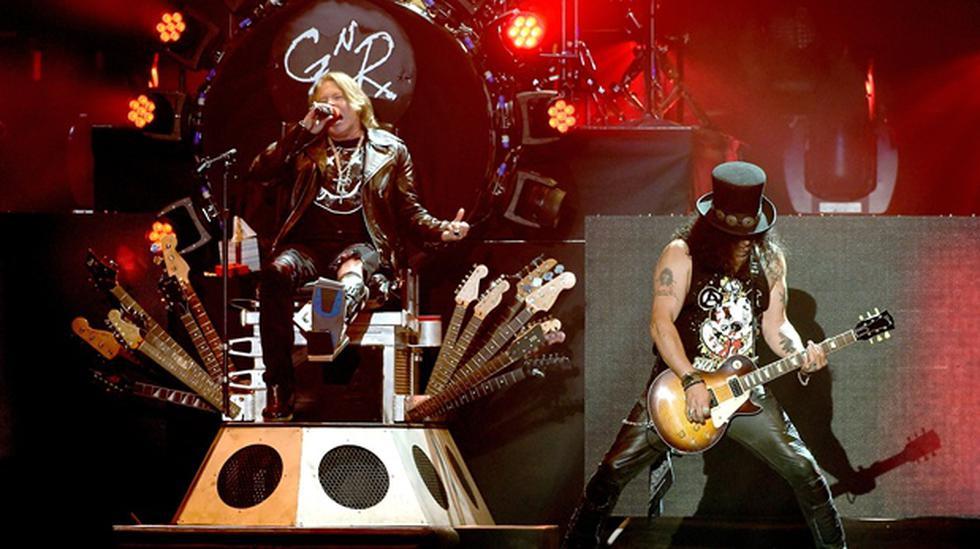 Area 7 teloneará a Guns N' Roses en su concierto en Lima - 2