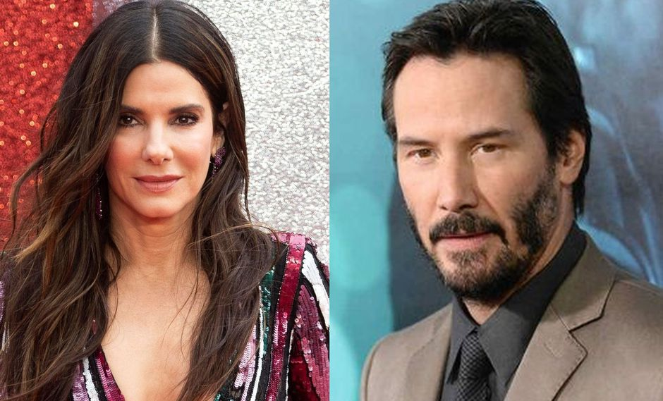 Sandra Bullock reveló que estuvo enamorada de Keanu Reeves, pero él no le correspondió. (Foto: EFE)