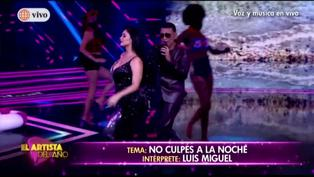 El artista del año: Pamela Franco y Josimar cantaron tema de Luis Miguel