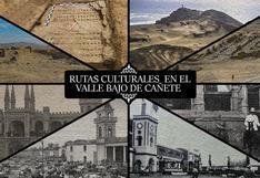 Realizan muestra fotográfica e infográfica de las rutas culturales en el Valle Bajo de Cañete