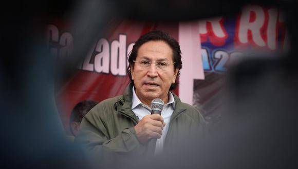 Alejandro Toledo tiene dos órdenes de 18 meses de prisión preventiva de la justicia peruana. Una es por el Caso Odebrecht y la otra por el Caso Ecoteva. (Foto: Archivo El Comercio)