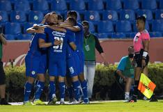 Cruz Azul vapuleó 4-0 a Pumas por la ida de las semifinales de la Liga MX