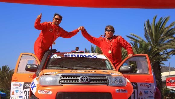 Raúl Orlandini logró segundo puesto en el Rally de Marruecos