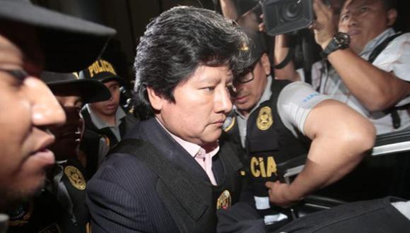 Edwin Oviedo está recluido en le pabellón de máxima seguridad del Centro Penitenciario de Chiclayo. (Foto: GEC)