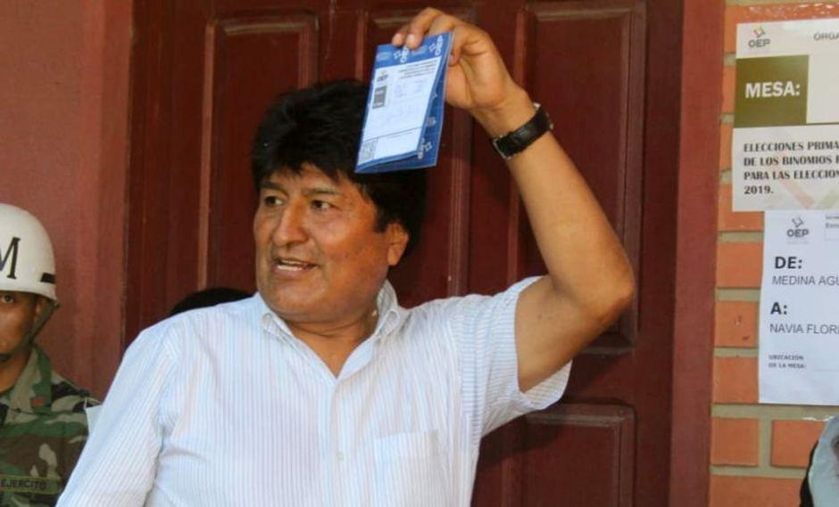 """Evo Morales anima a participar en las """"históricas"""" primarias en Bolivia. (AFP)"""