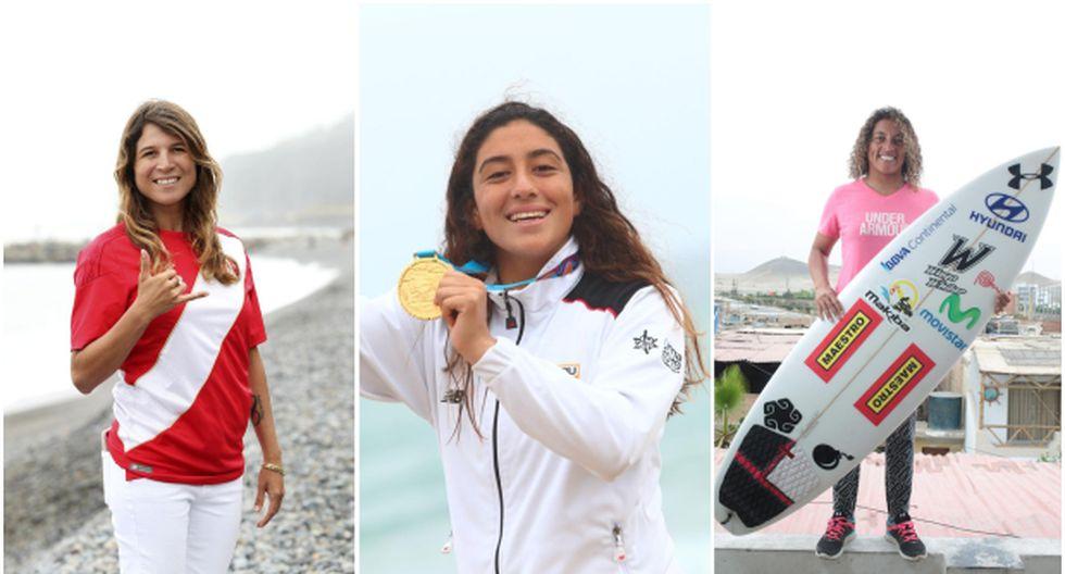 Sofía Mulanovich, Daniella Rosas y Analí Gómez avanzaron en el Mundial ISA de Surf en Japón | Foto: GEC