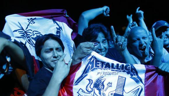 Metallica de Lima: imágenes de una noche llena de energía - 9