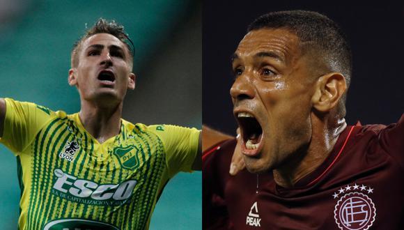 Lanús y Defensa y Justicia se verán las caras este sábado 23 de enero en la final de Copa Sudamericana. | Foto: AFP