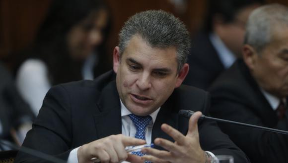 """Rafael Vela denuncia que se busca """"obstruir el convenio"""" que mantienen con la Fiscalía de Brasil.(Foto: GEC)"""