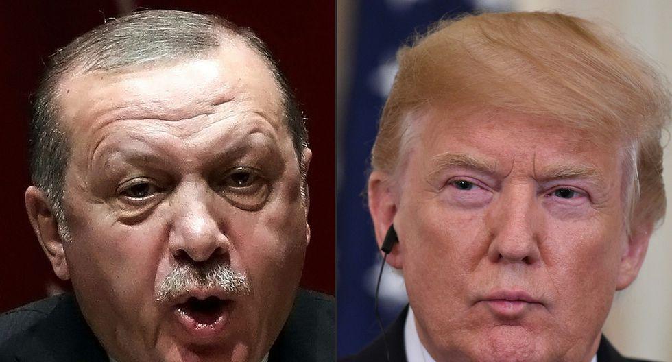 Donald Trump advirtió a Turquía sobre una devastación económica si ataca a los kurdos tras la retirada de sus tropas de Siria. (AFP)