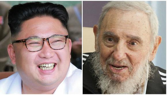 Kim Jong-un envía regalo a Fidel Castro por su 90 cumpleaños