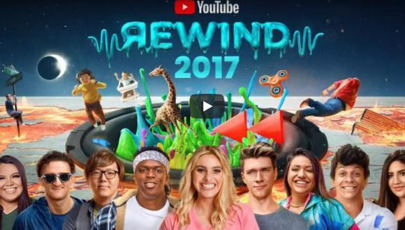 YouTube resume todos los años con un pintoresco video. (Foto: captura de YouTube)