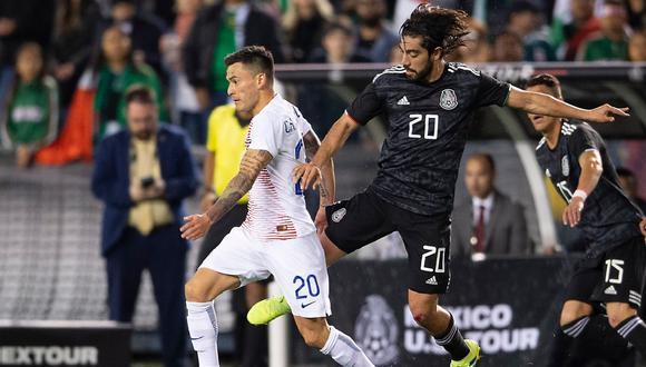 México venció 3-1 a Chile con goles de Jiménez, Moreno y Lozano por fecha FIFA. | Foto: @miseleccionmx