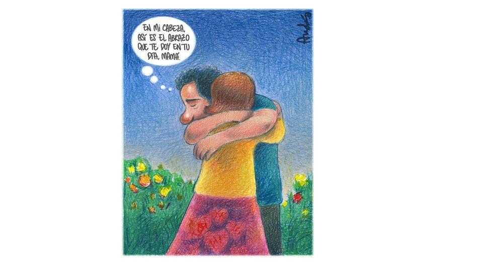 El abrazo soñado, por Andrés Edery