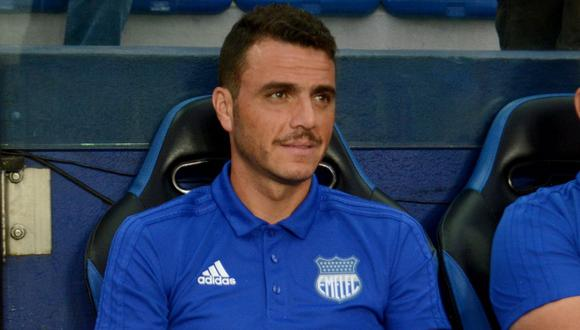 Mariano Soso dirigió la temporada pasada a Emelec. (Foto: AFP).