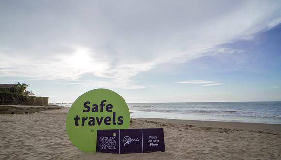 """Atención visitantes: Mincetur entrega sello internacional """"Safe Travels"""" a playas de Piura.(Foto: Mincetur)"""